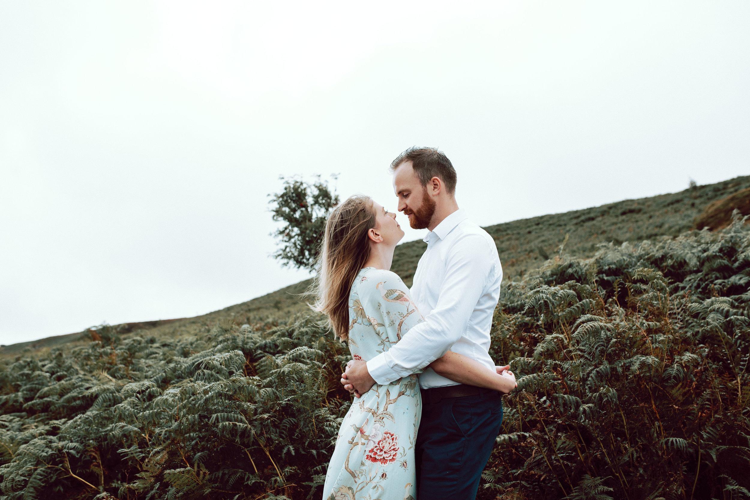 Abigail & Matthew Engagement session Ilkley
