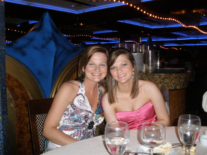 Heather bought Michelle a cruise for high school graduation!