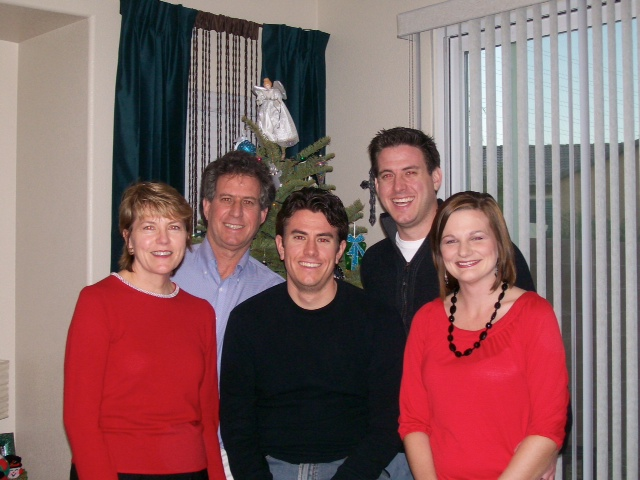 The year Jason's family all came to Vegas.  And the year I got rid of the red shirt that made me look fat.
