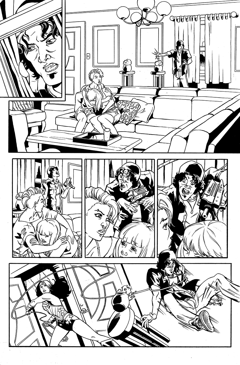 Wonder Woman samples, page 2, CO DC Entertainment
