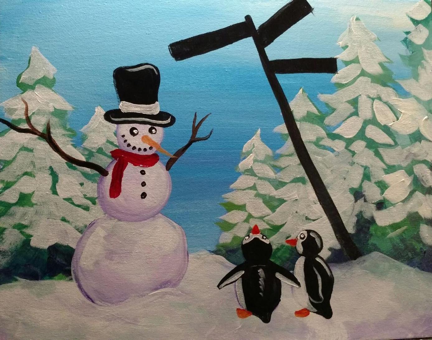 Which Way Snowman?