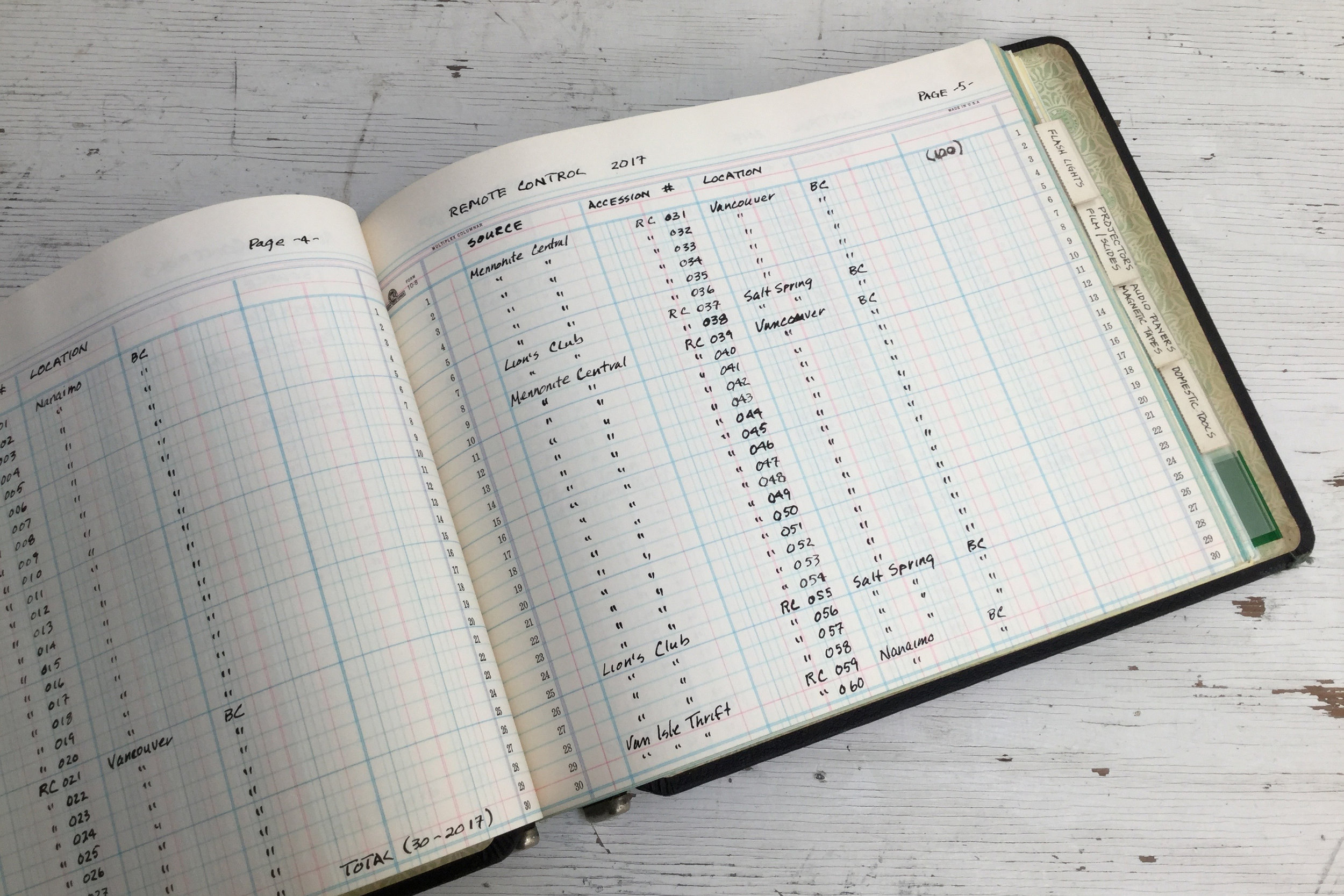 15 Object Lessons - Archive - Log Book.jpg