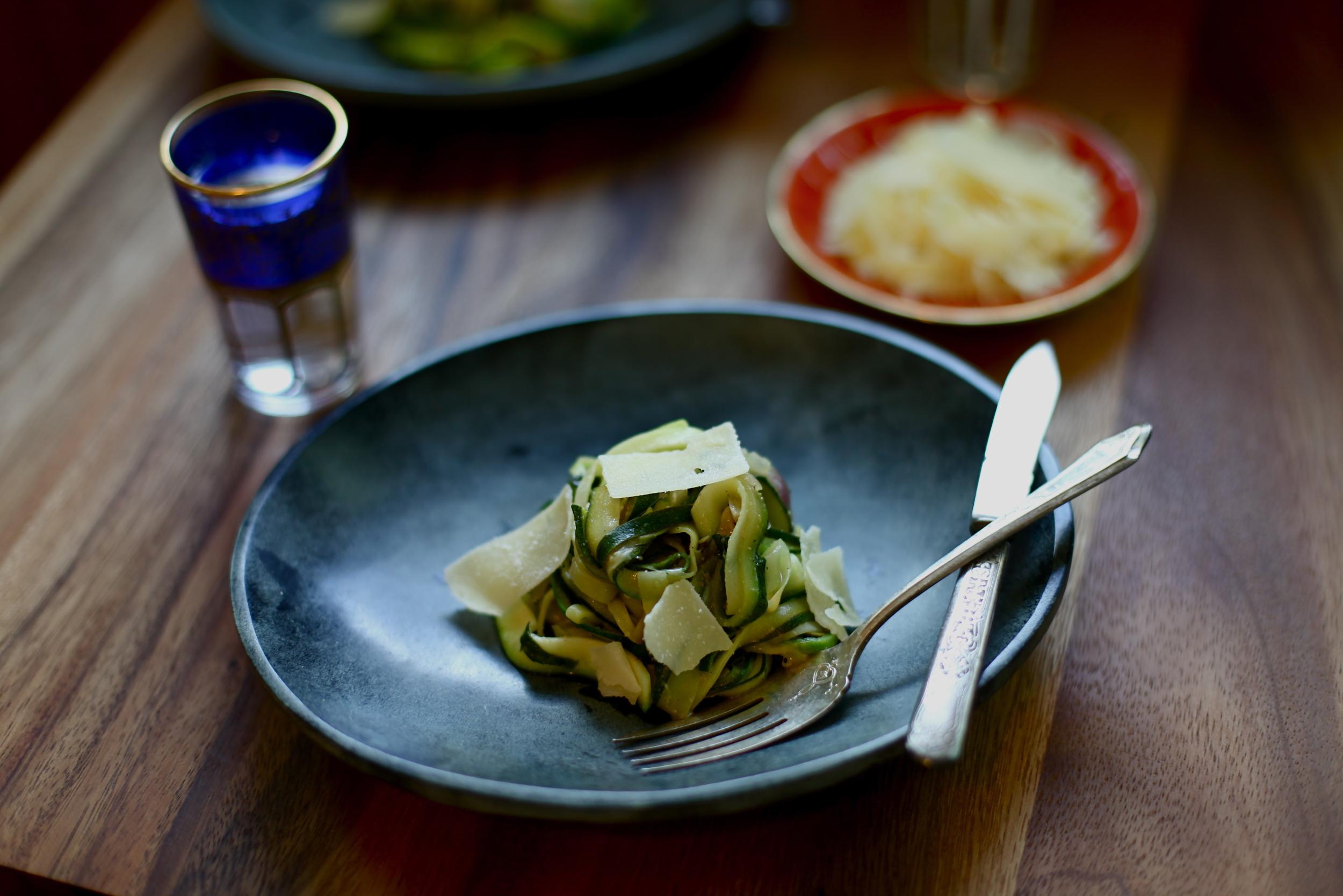 Zucchini Lingine by Wit + Aroma