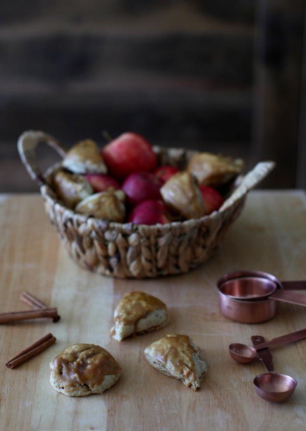 Apple Cider Scones by Wit + Aroma