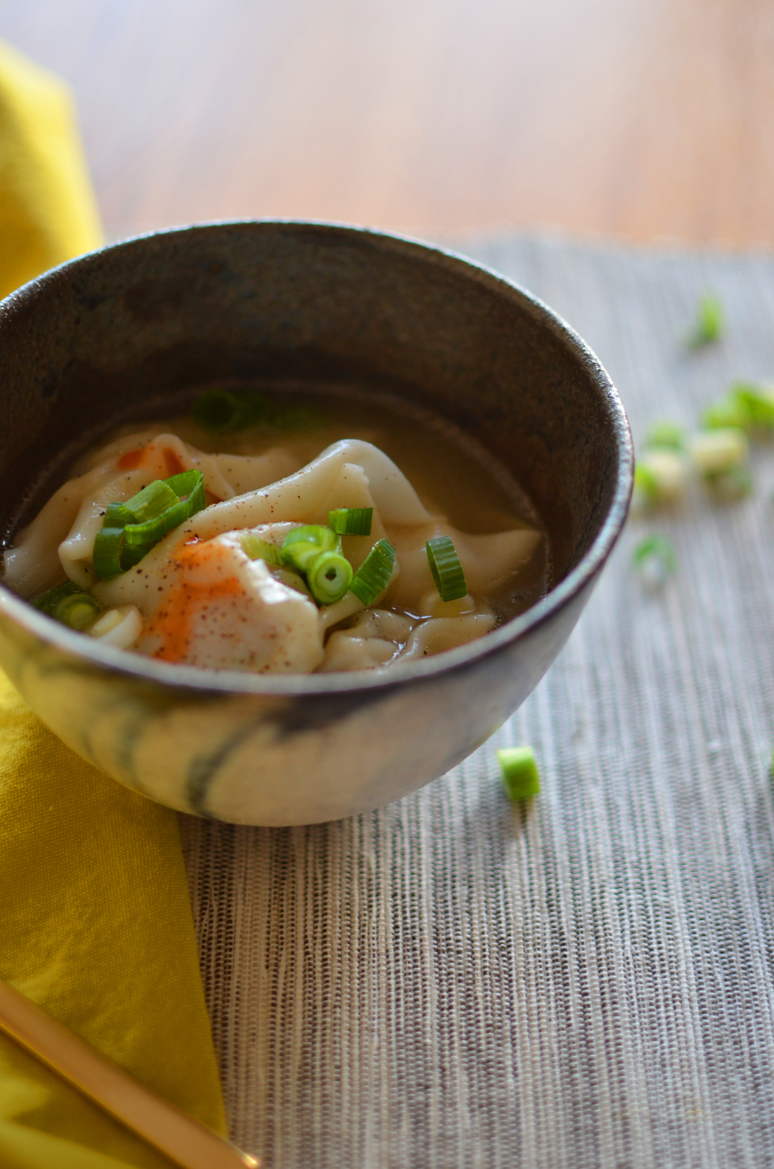 wit + aroma wonton soup