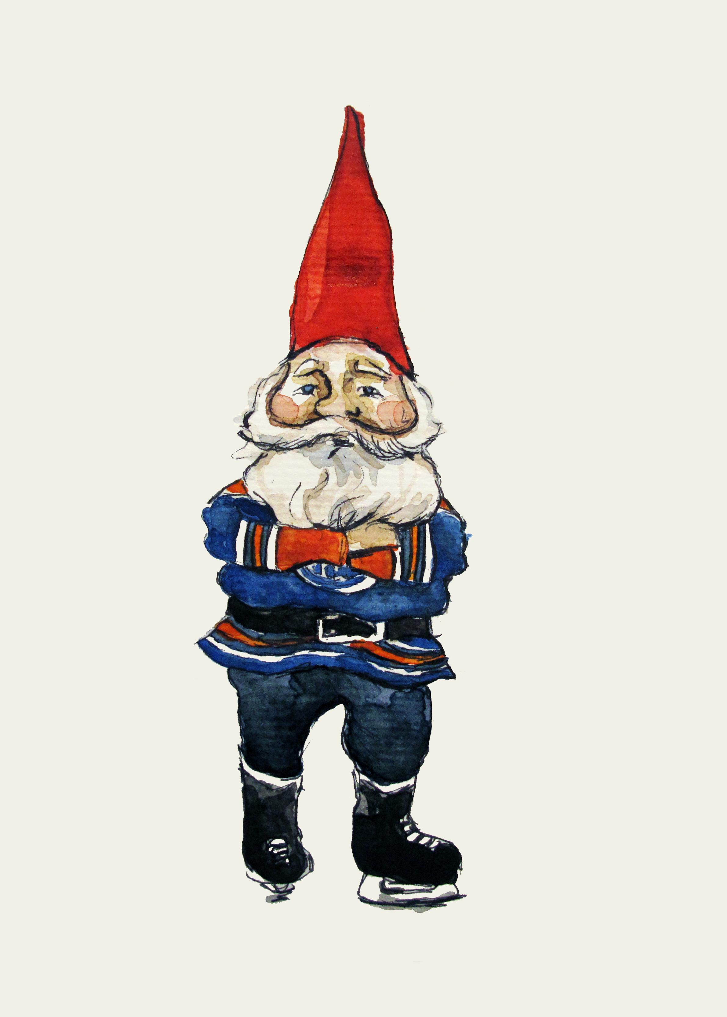 Oilers gnome
