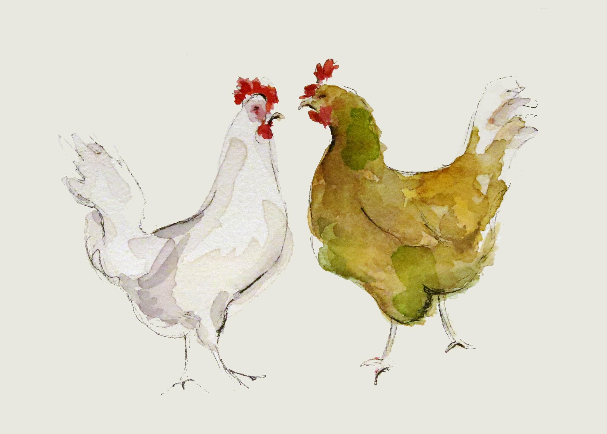 Chickens (ORIGINAL SOLD)