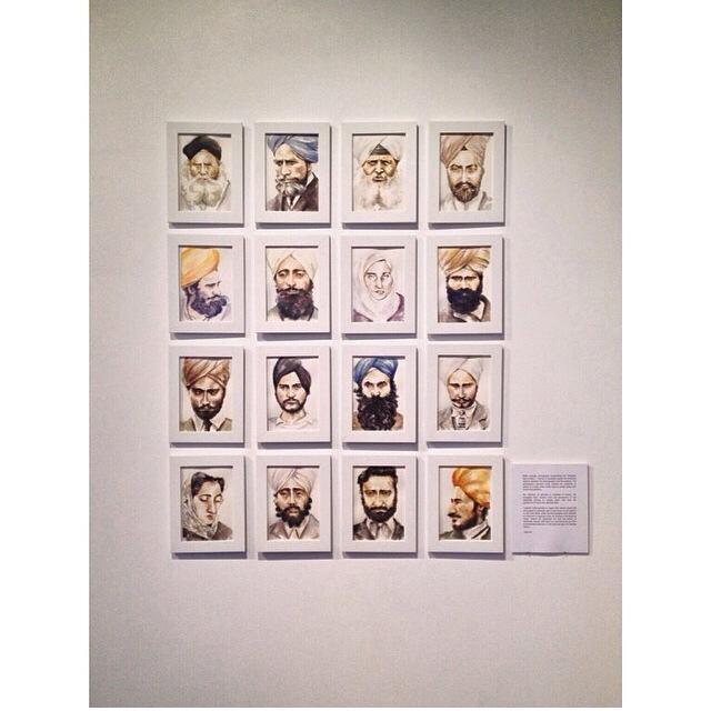 My 16 portrait series