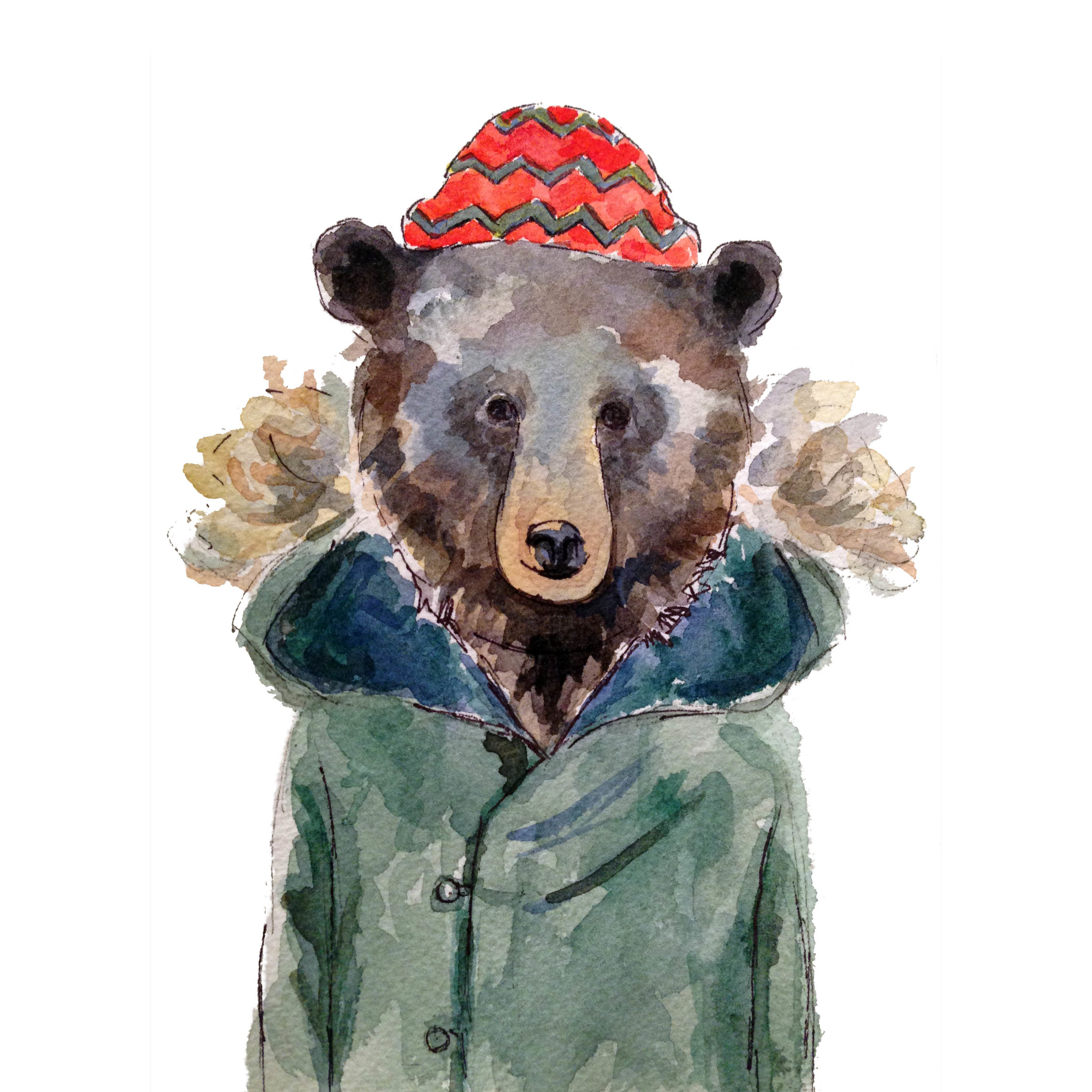 Parka Bear