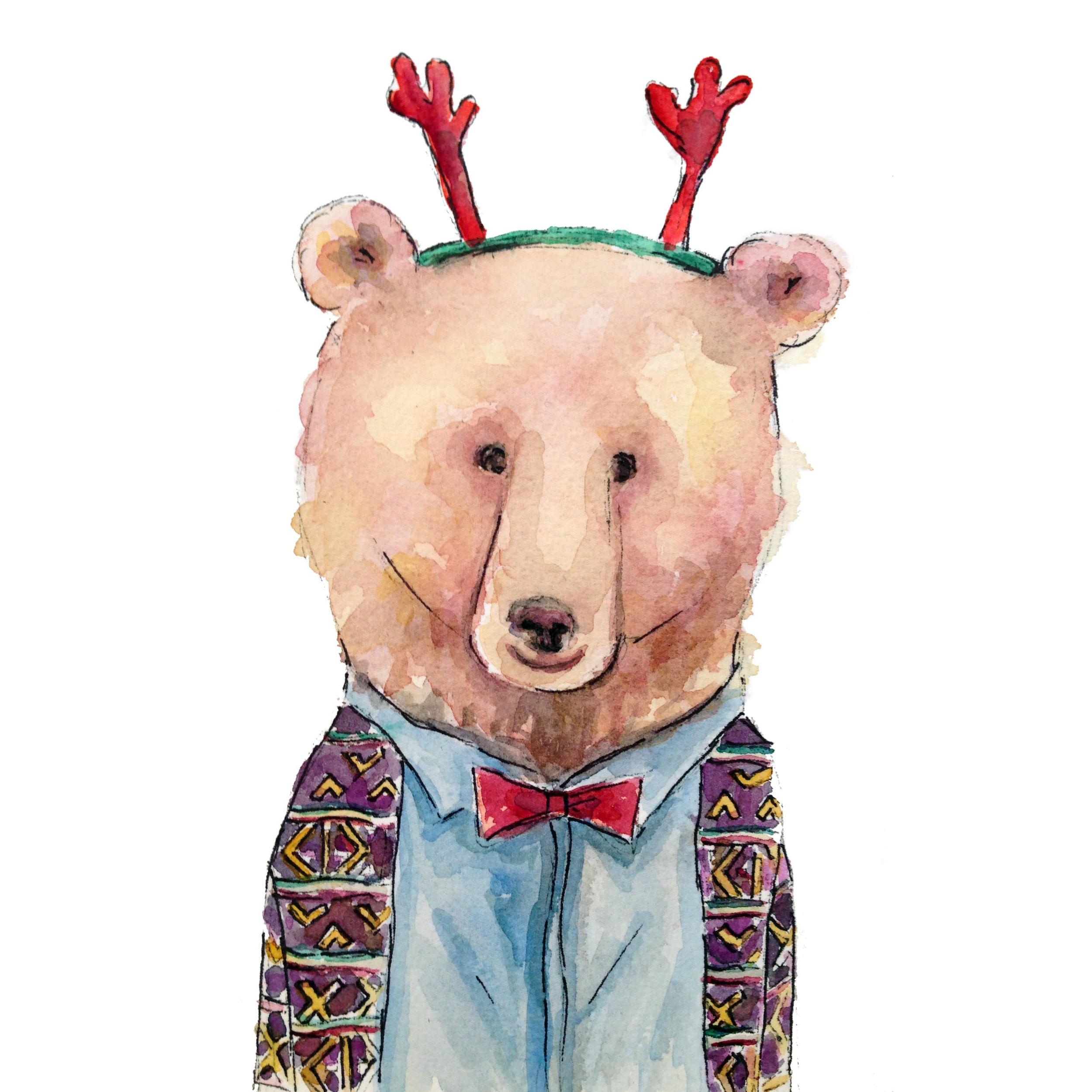 Christmas Party Bear