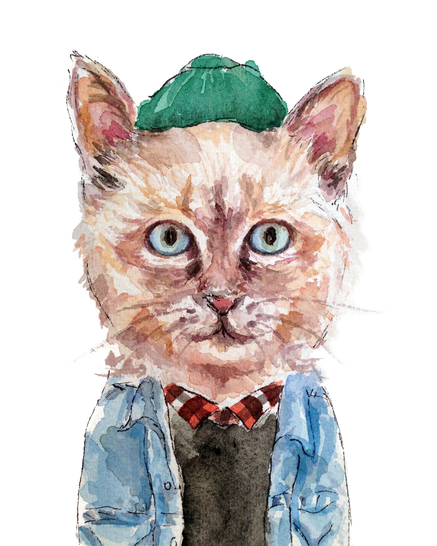 Jean Jacket Cat