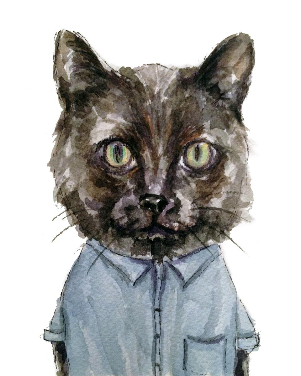 Black Cat (ORIGINAL SOLD)