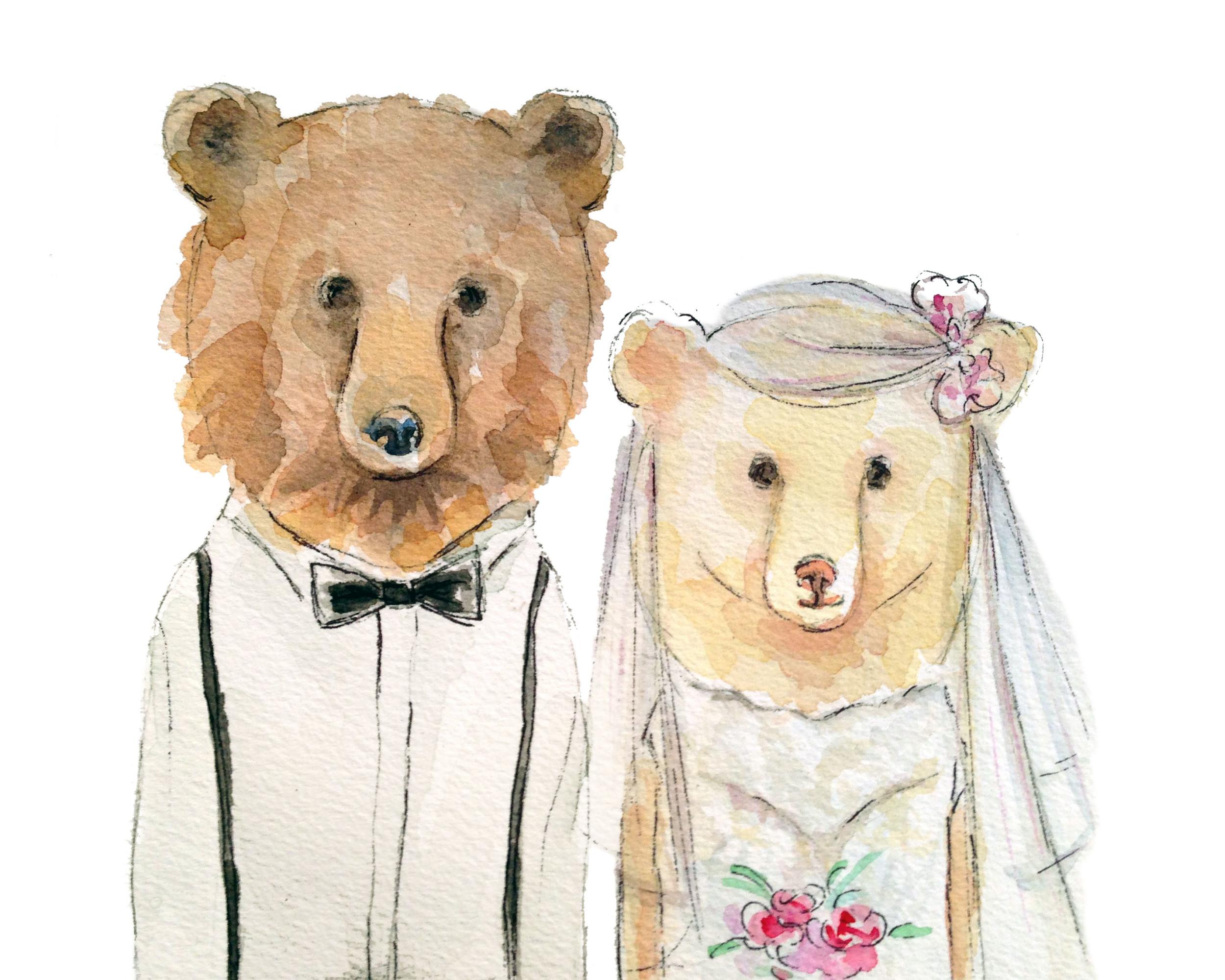 Wedding Bears