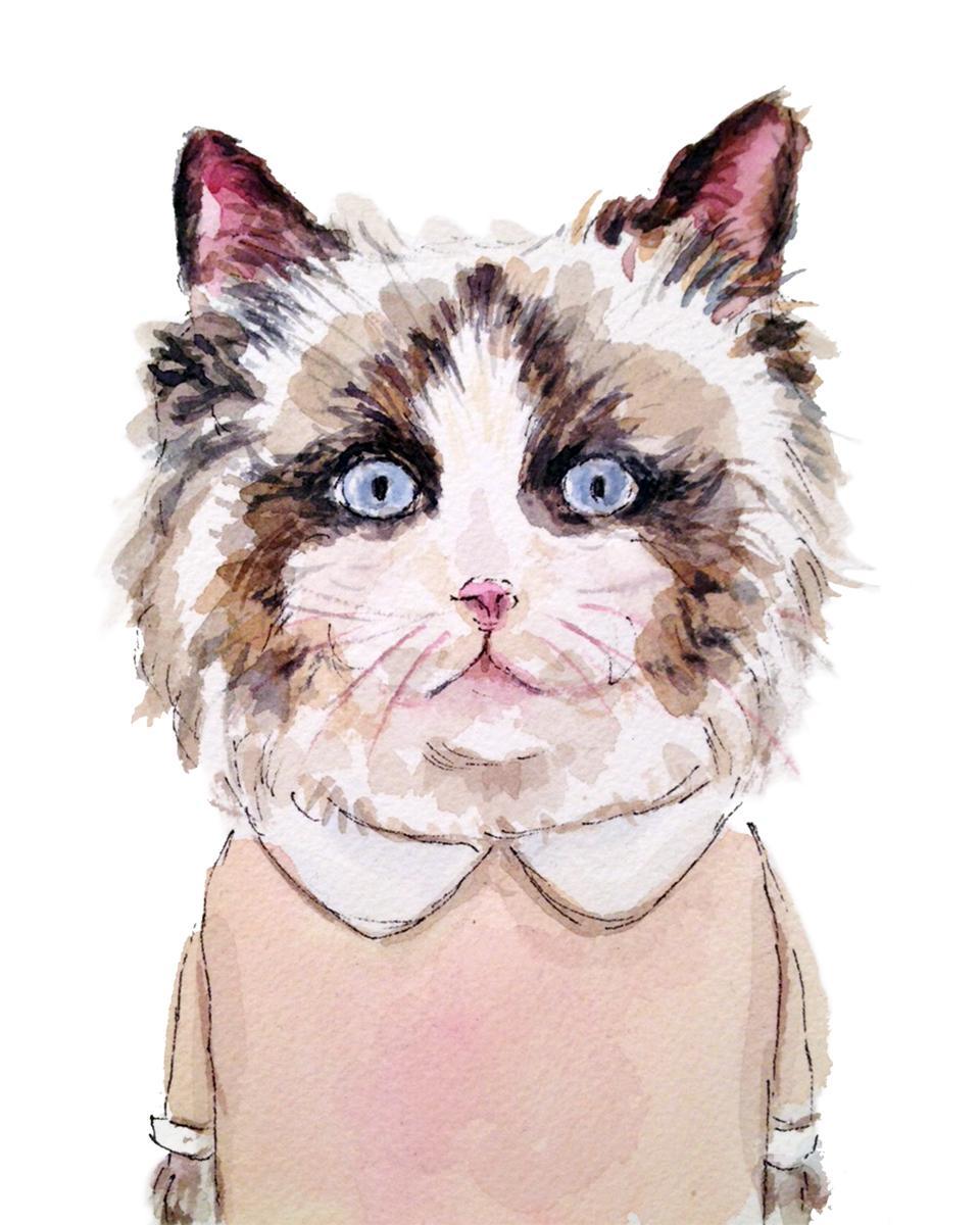 Mary Cat (ORIGINAL SOLD)