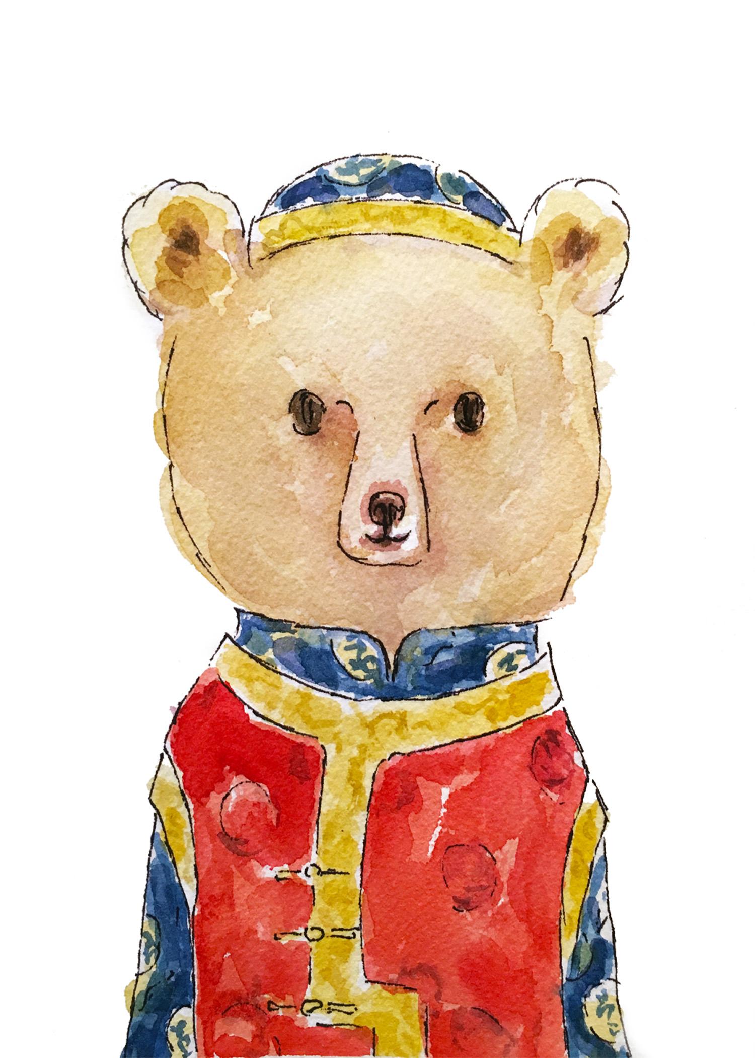Chinese New Year Bear