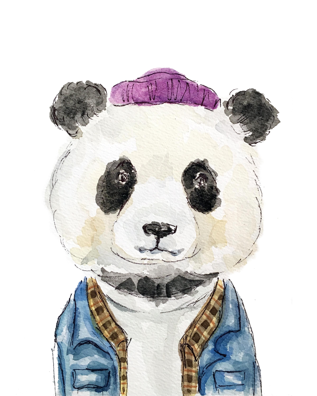 Jean Jacket Panda