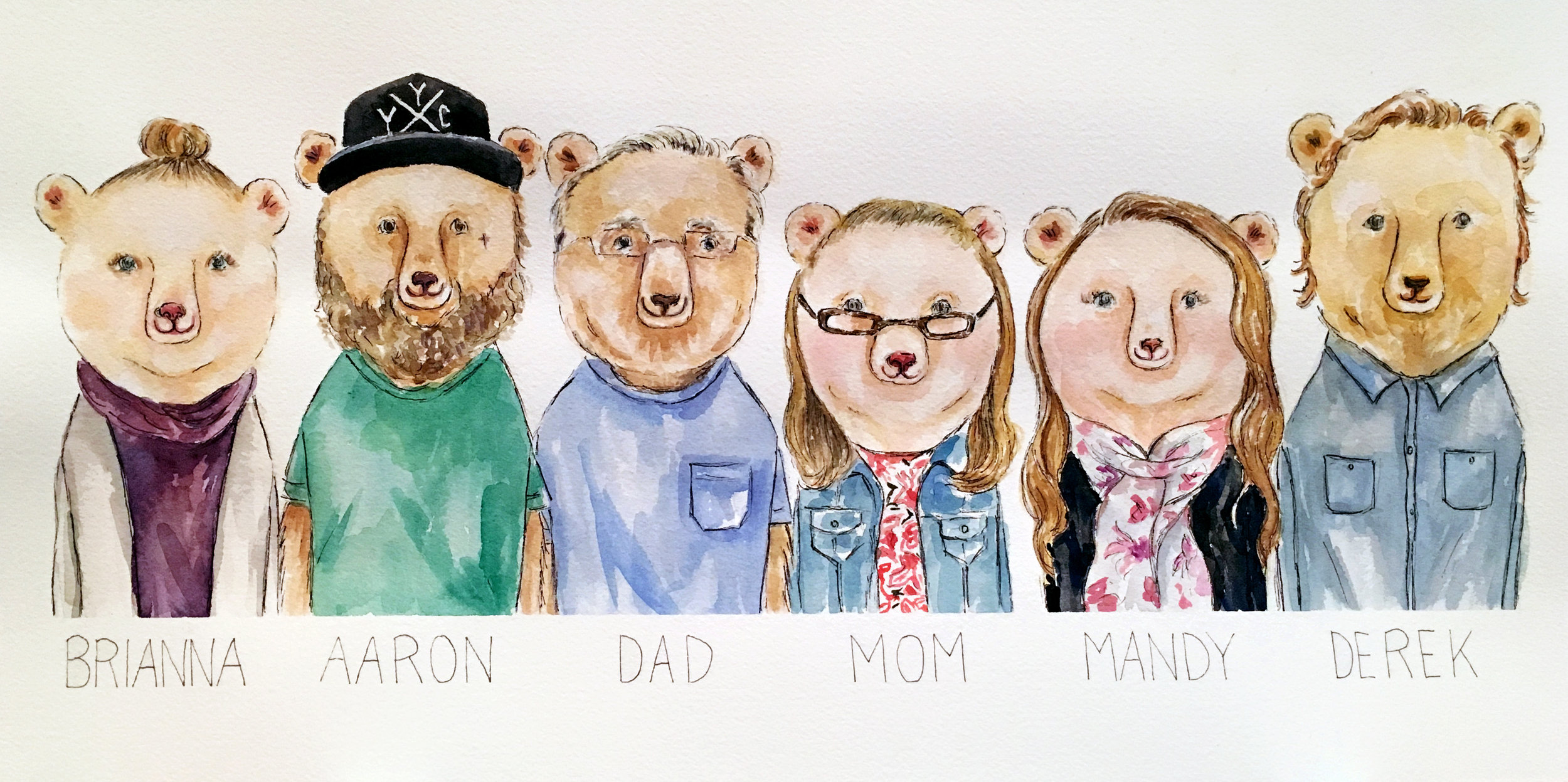 Thorogood Bear Family