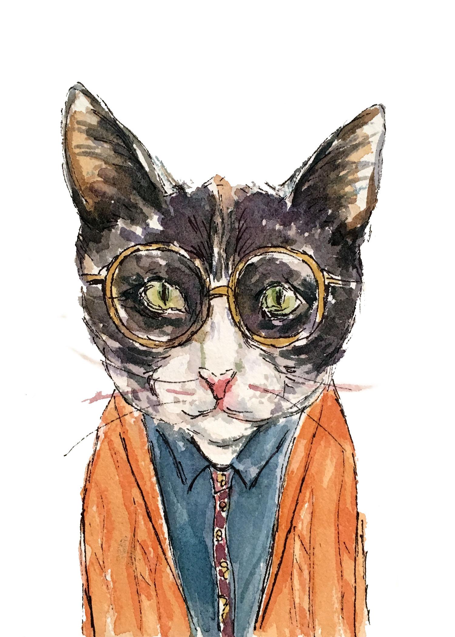 Orange-sweater-cat-5x7.jpg
