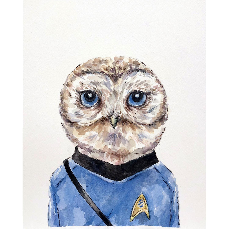 Owl Spock