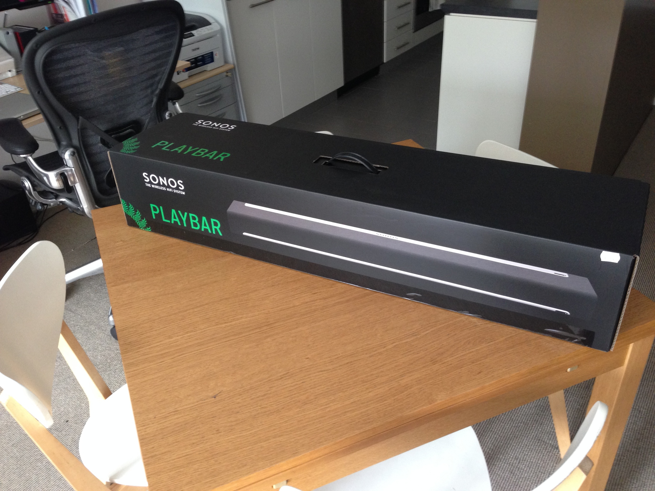 ANOTHER new toy - SONOS Playbar....but no unboxing videos here.