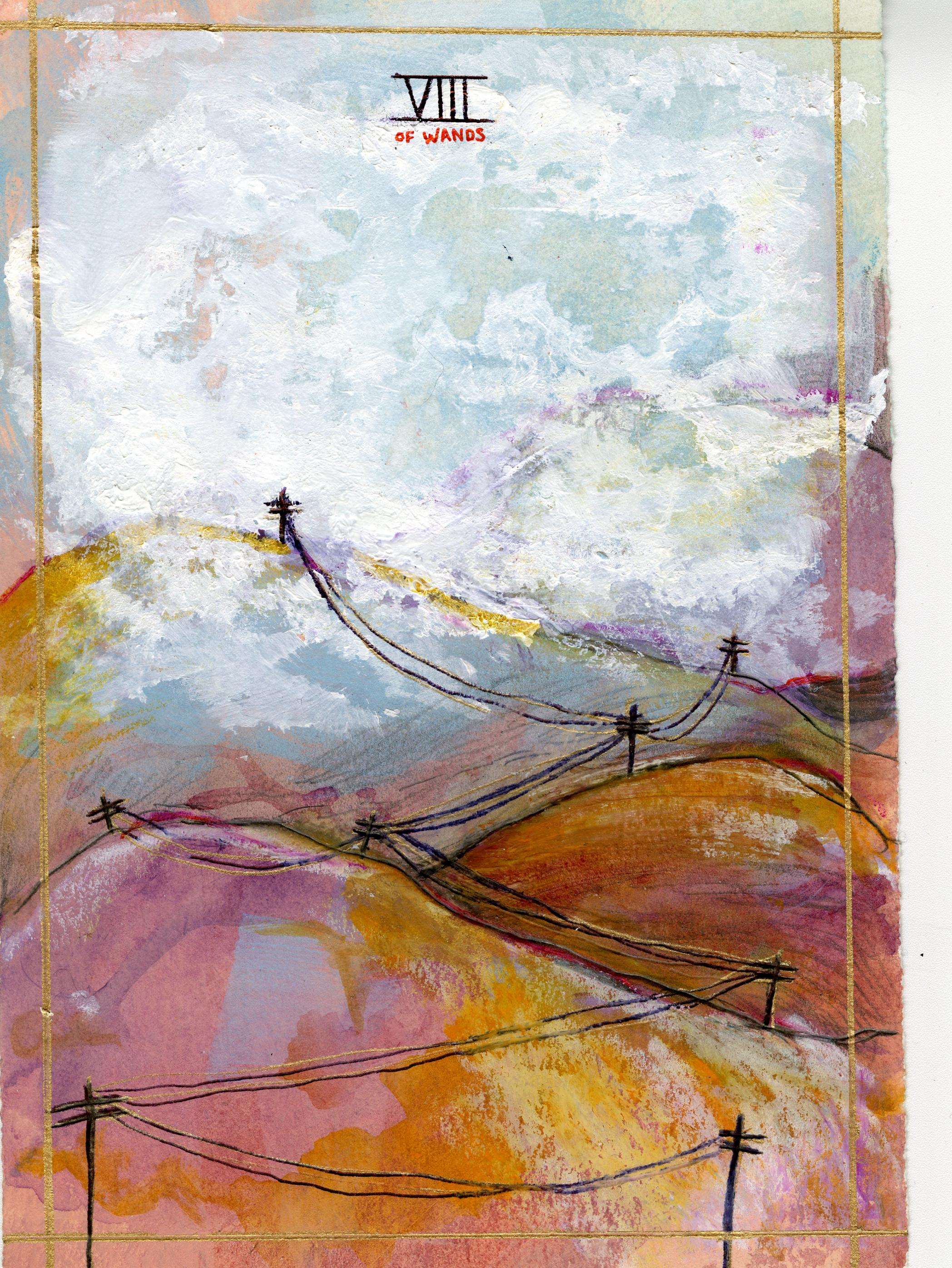 Aleischa Kronshagen - Eight of Wands