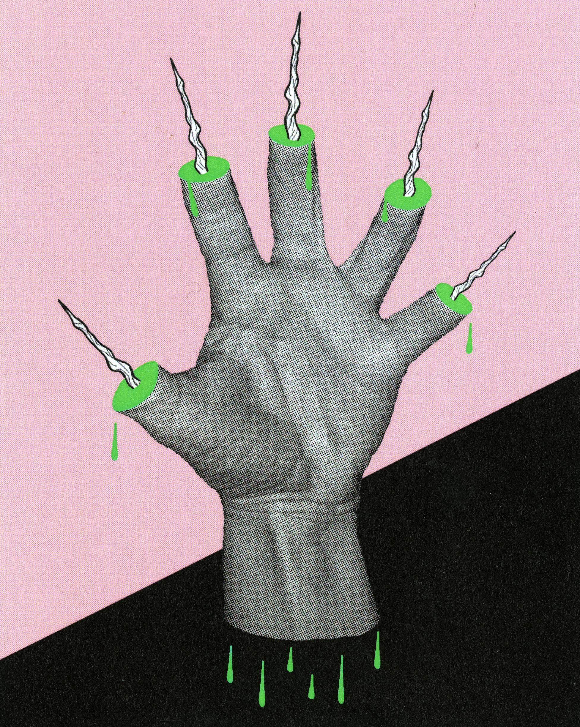 Allison Rentmeester - Five of Wands