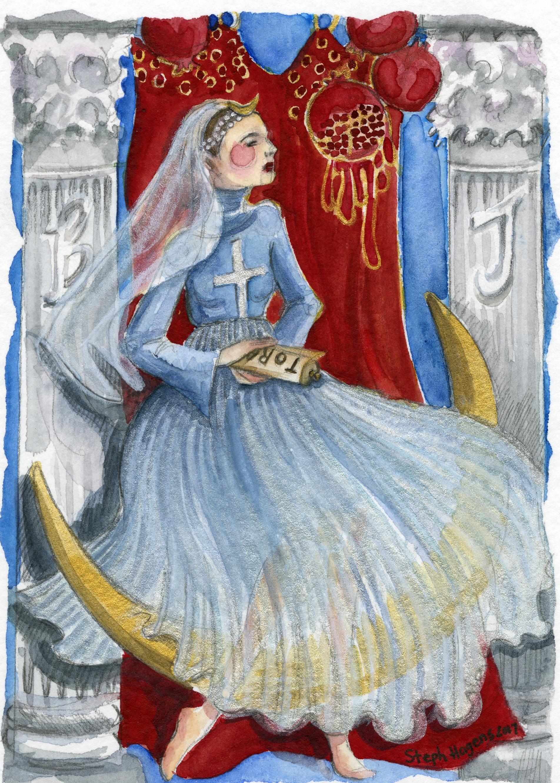 Stephanie Hagens - The High Priestess