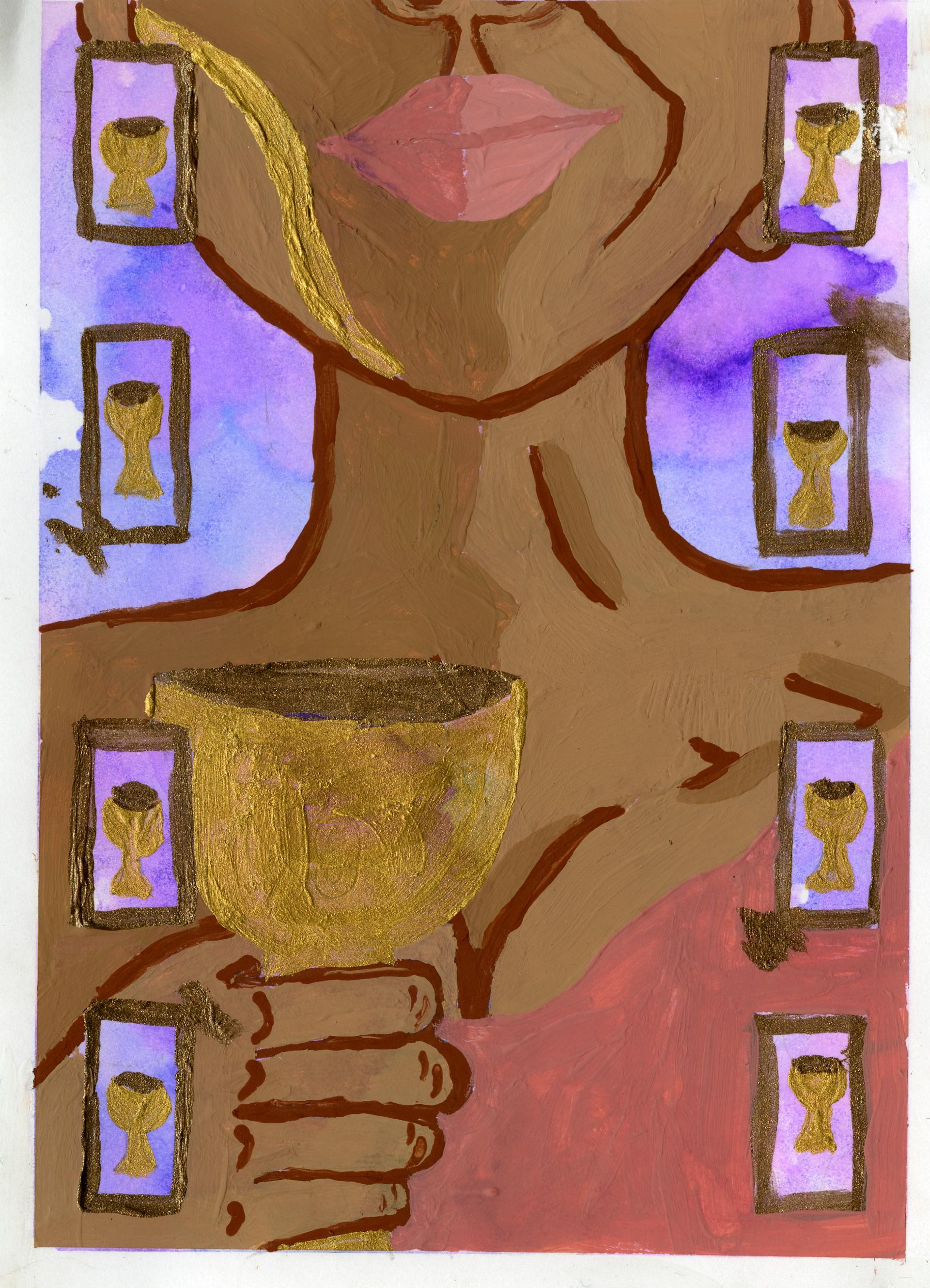 Lauren Pelletier - Nine of Cups