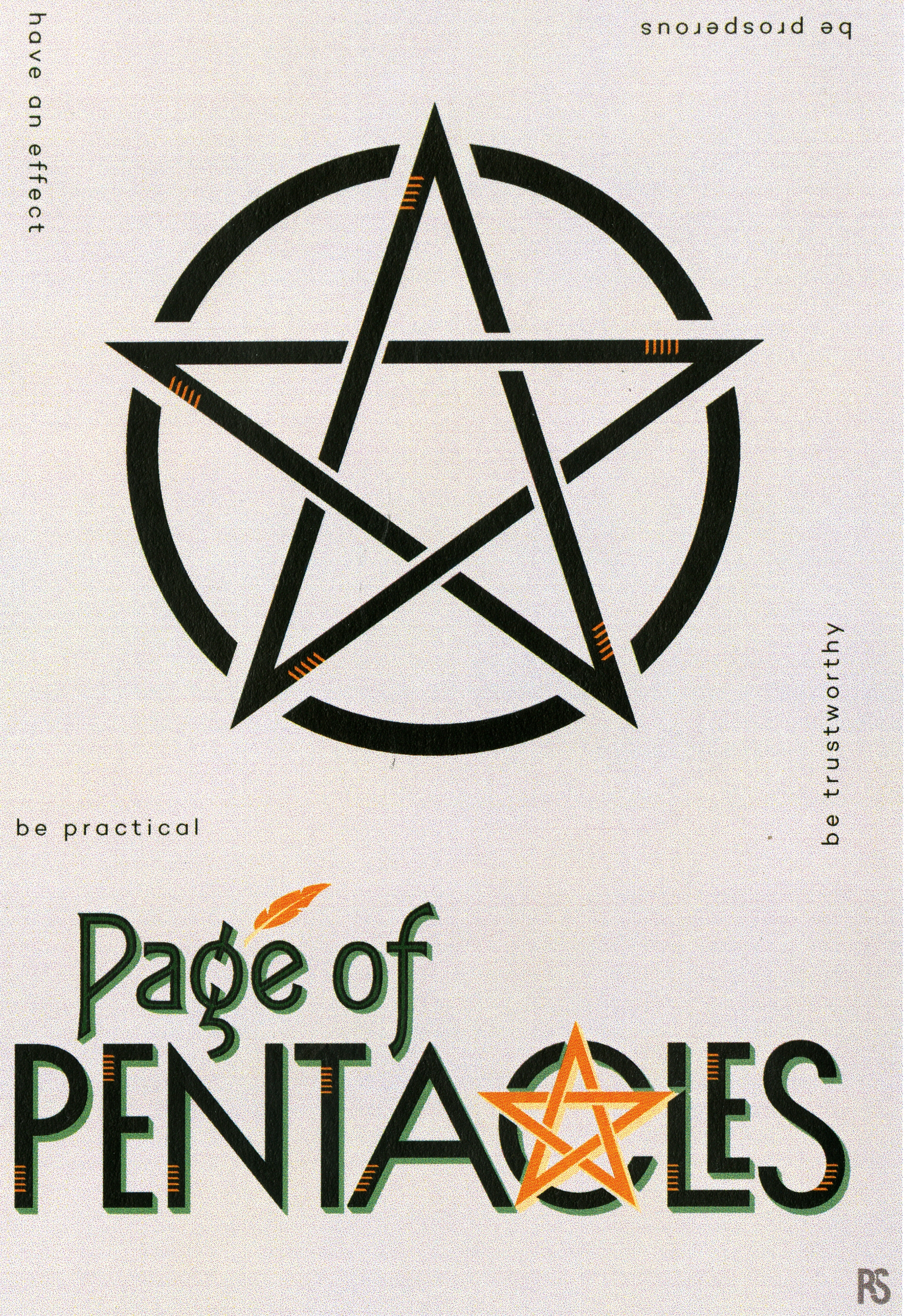 Ryann Staton - Page of Pentacles