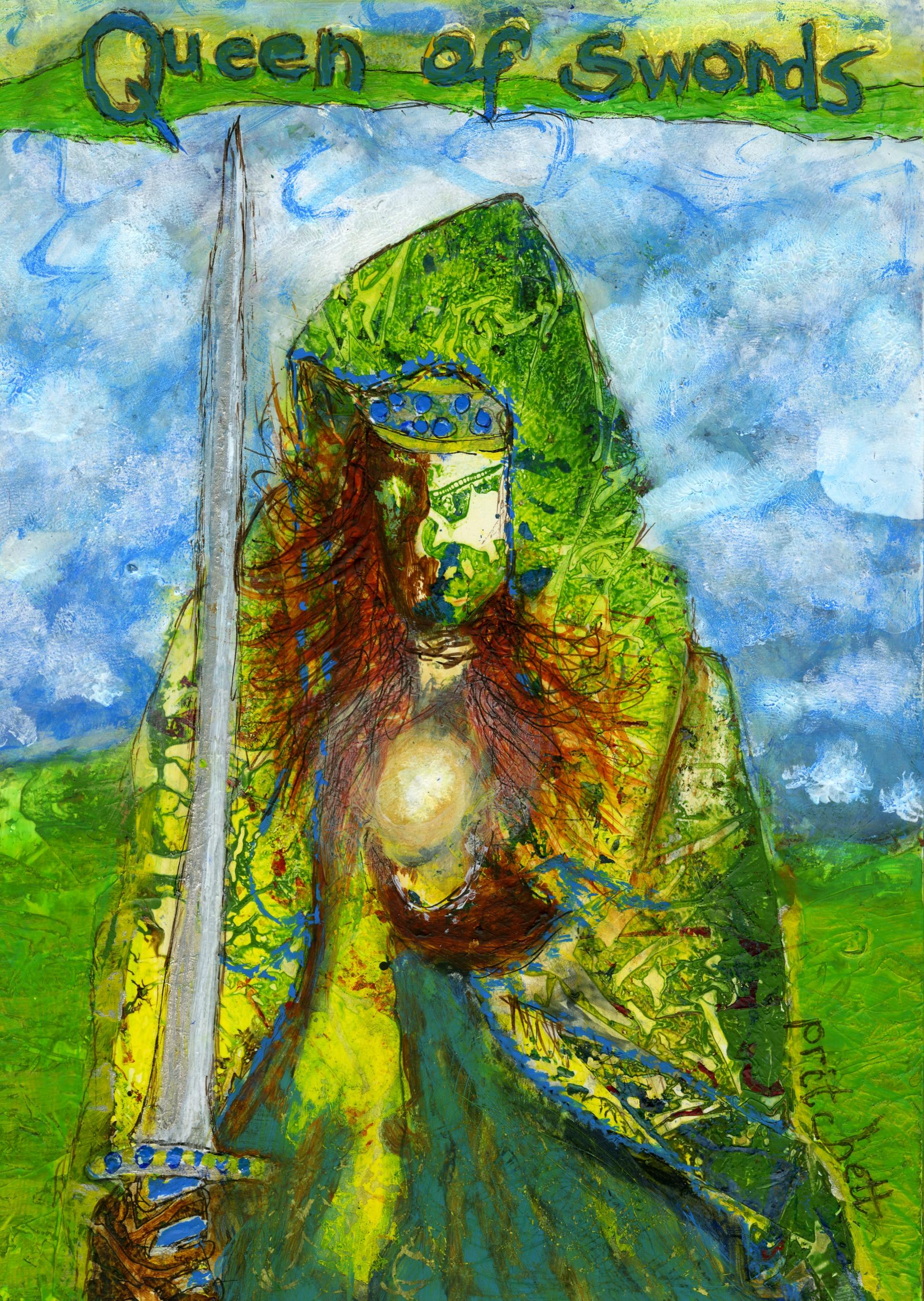 Peg Pritchett - Queen of Swords