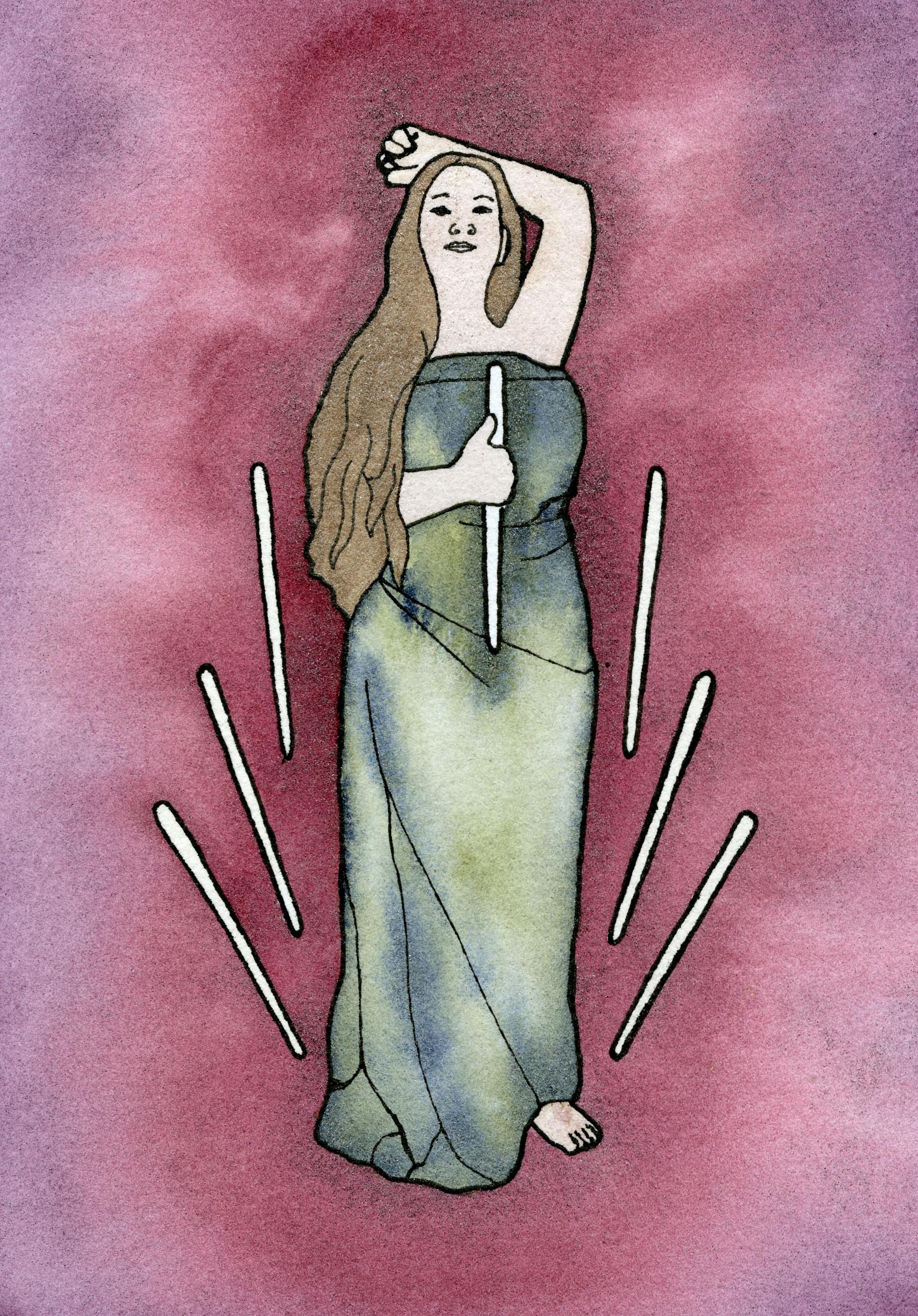 Adelheid Zimmerman - Seven of Wands