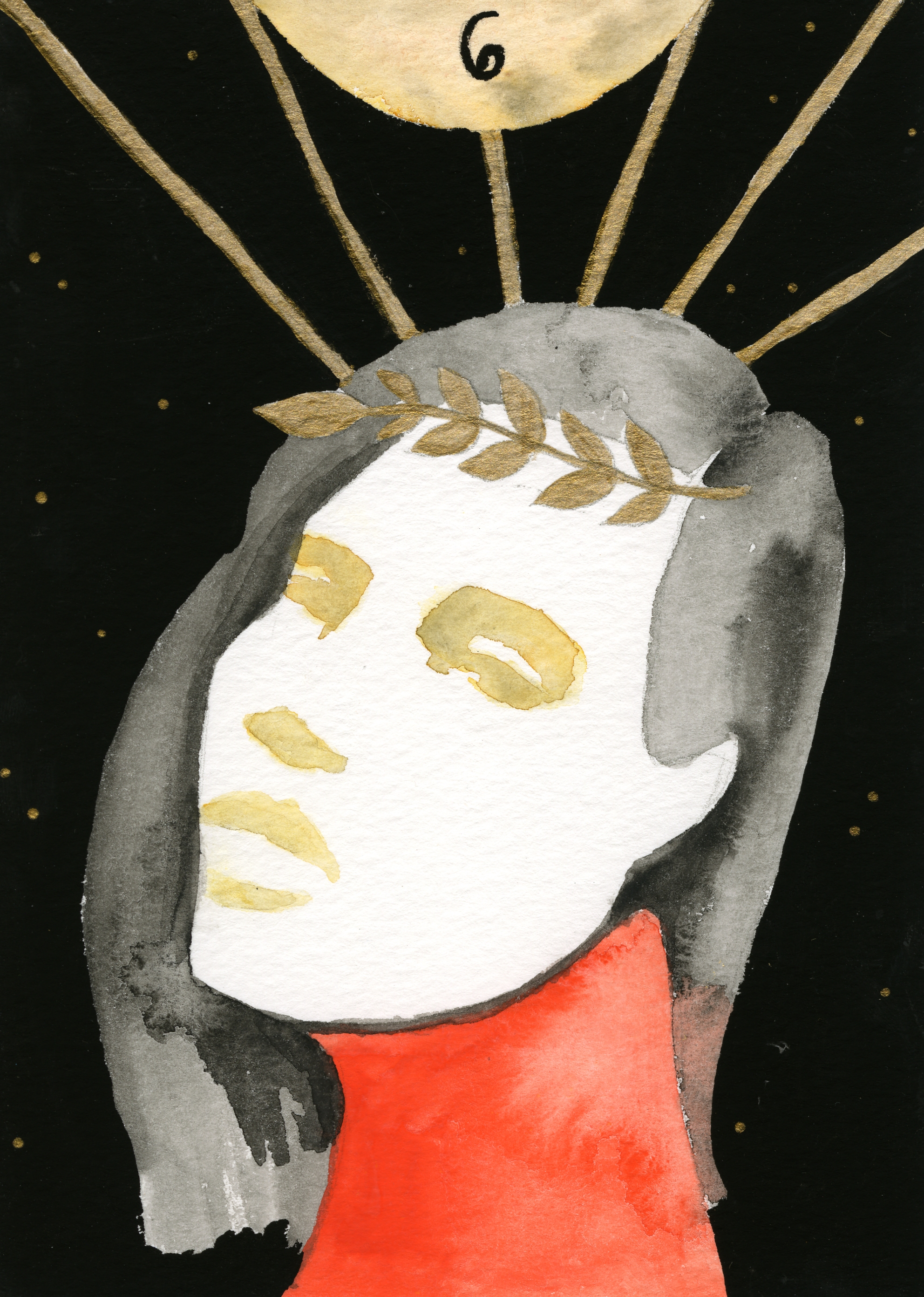 Adria Kaufman - Six of Wands