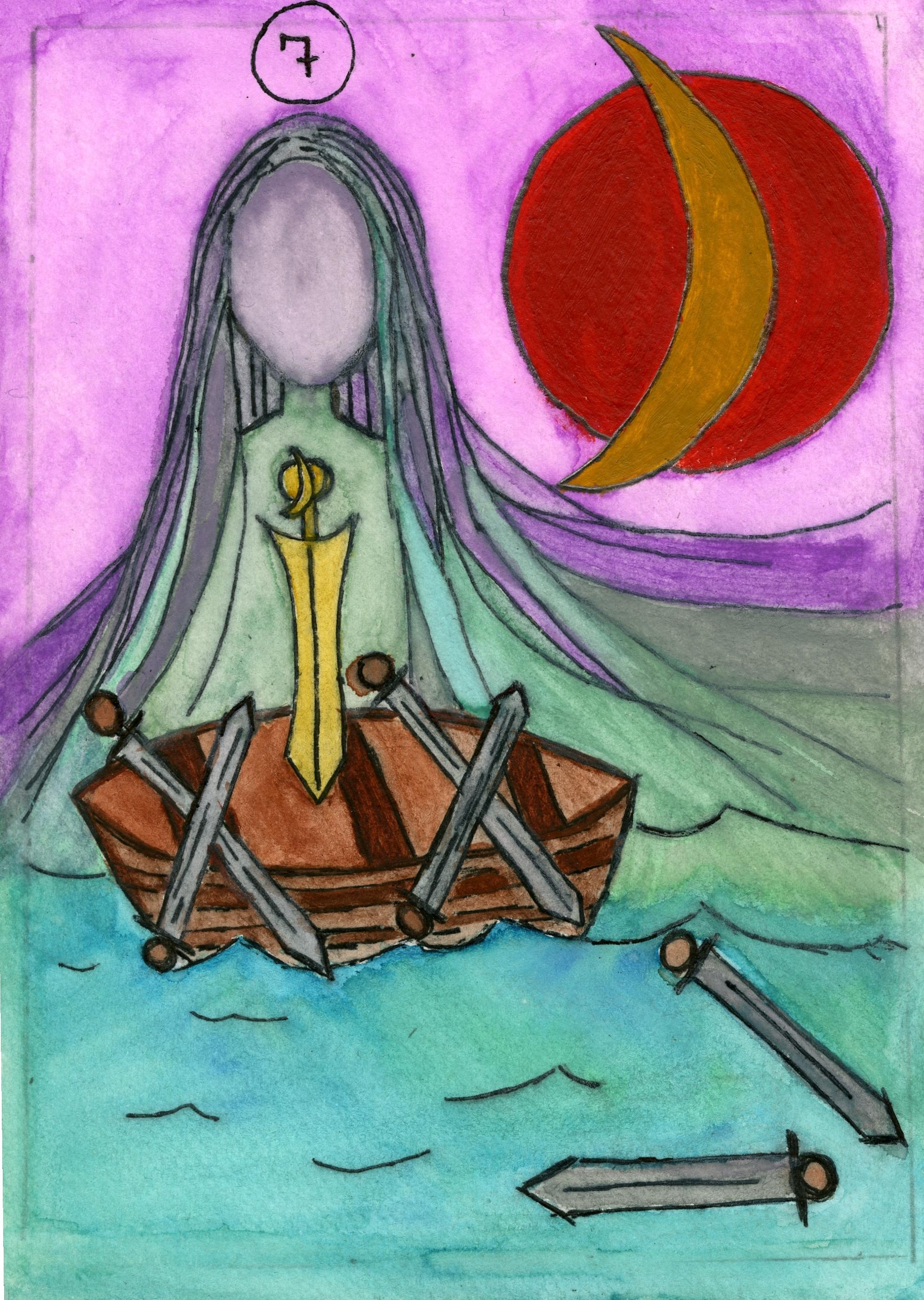 Sara Reddick - Seven of Swords