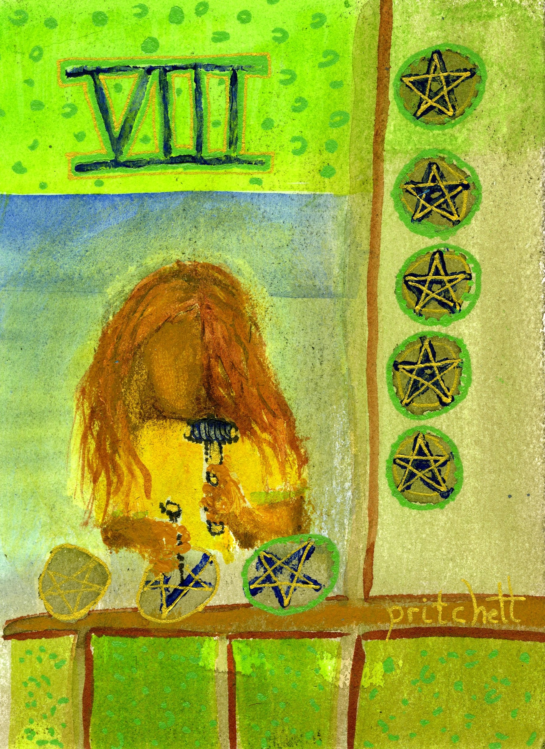 Peg Pritchett - Eight of Pentacles