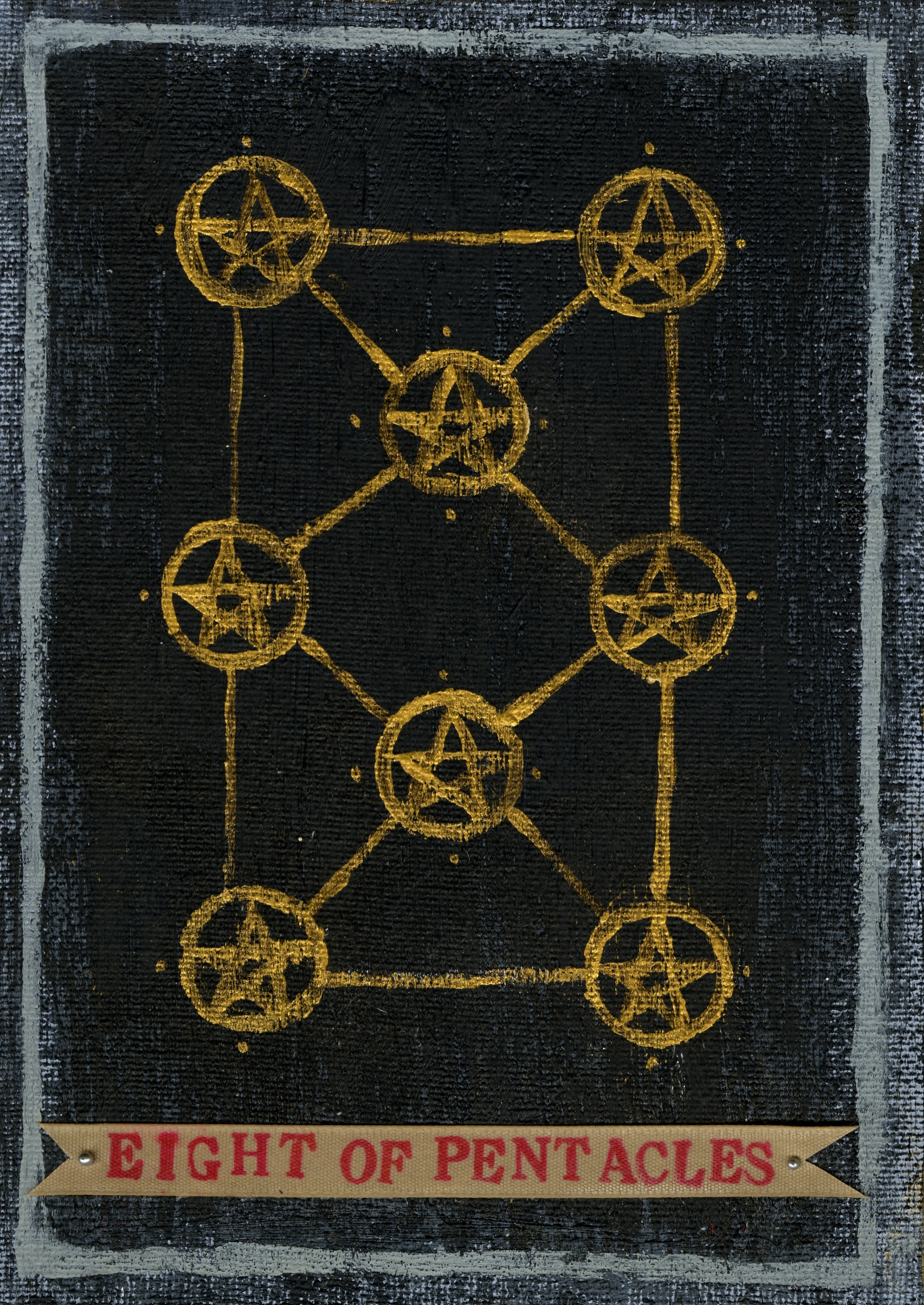 Carol Shufro - Eight of Pentacles