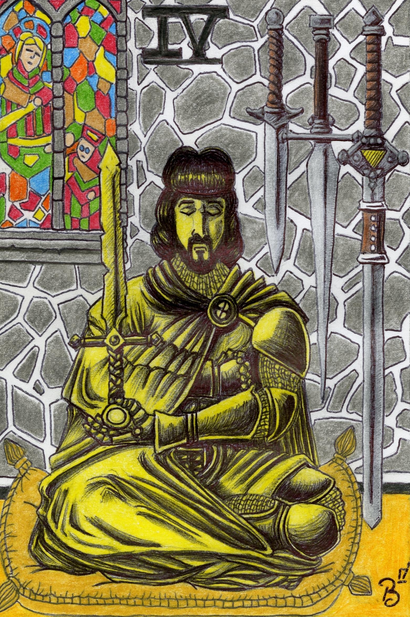 Bryan Smith - Four of Swords