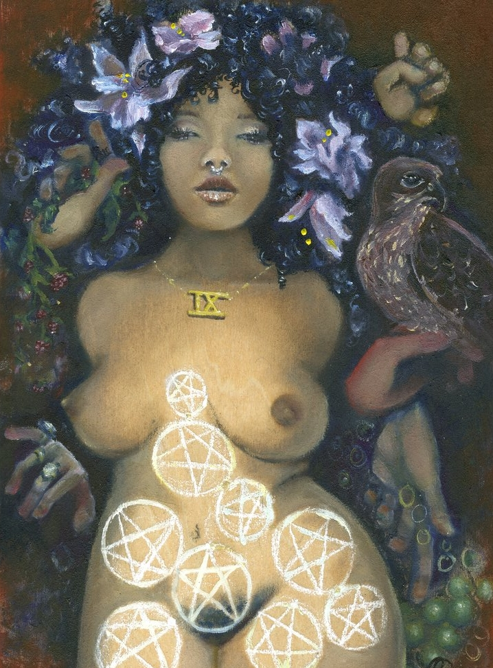 Terri Fischer - Nine of Pentacles