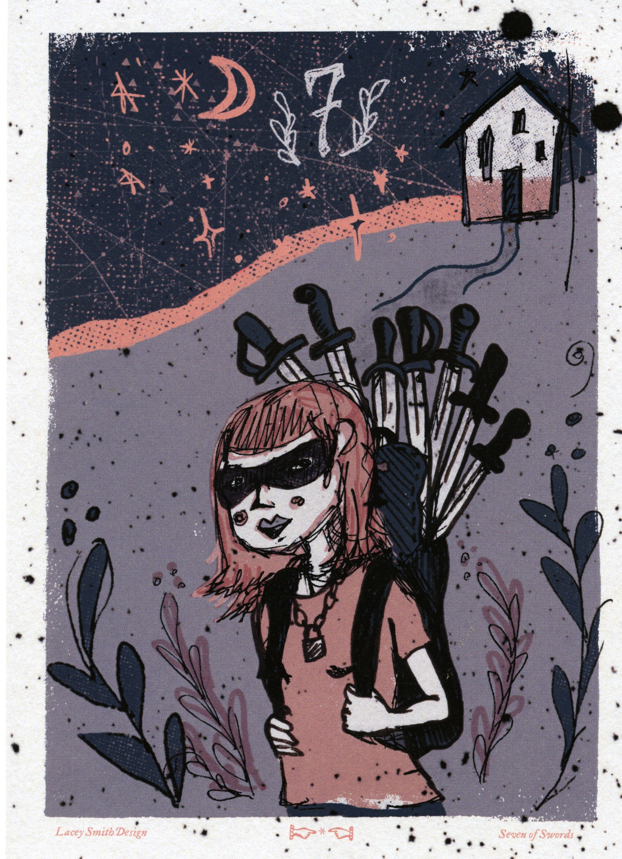 Lacey Smith - Seven of Swords