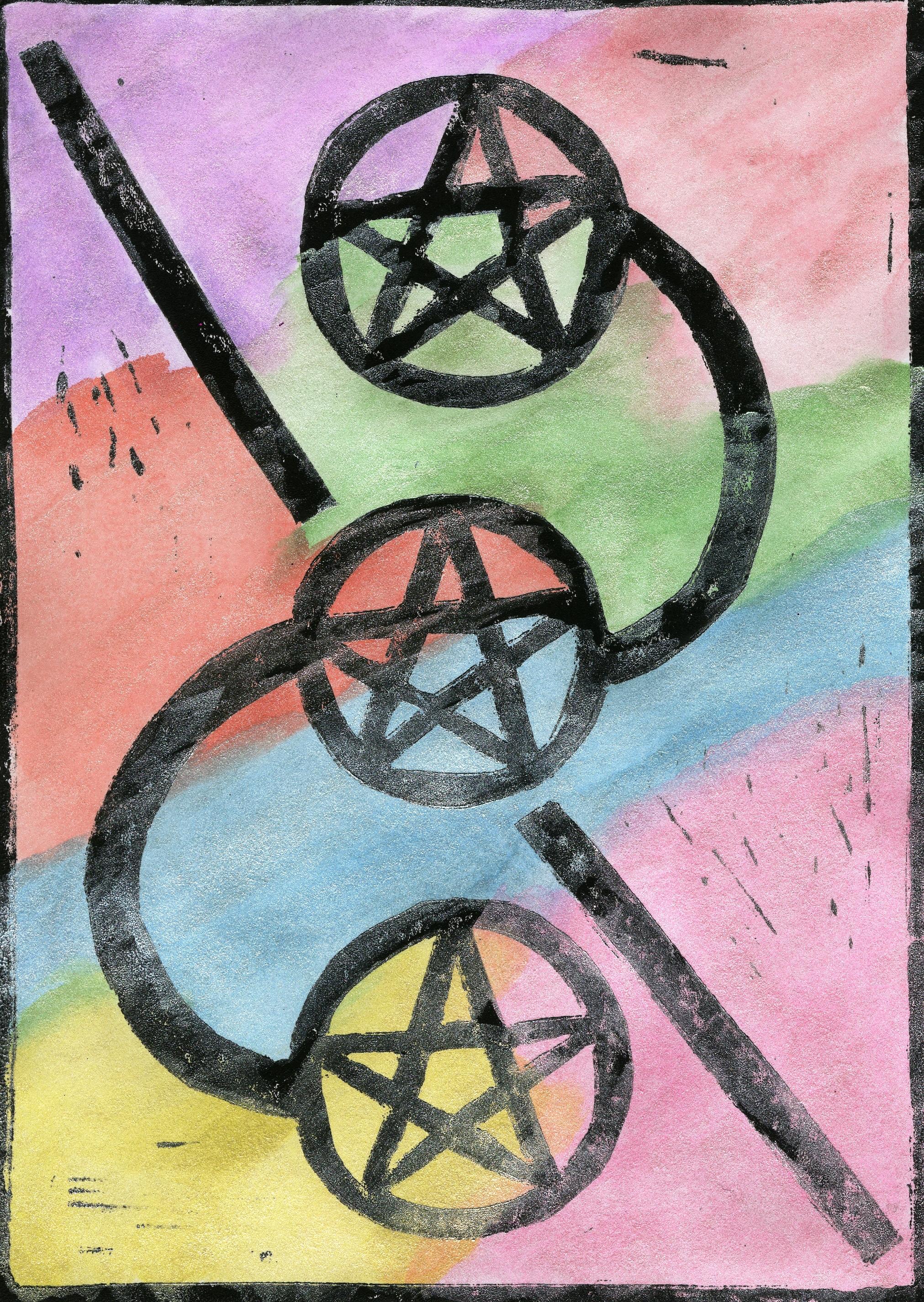 Mel Marcum - Three of Pentacles