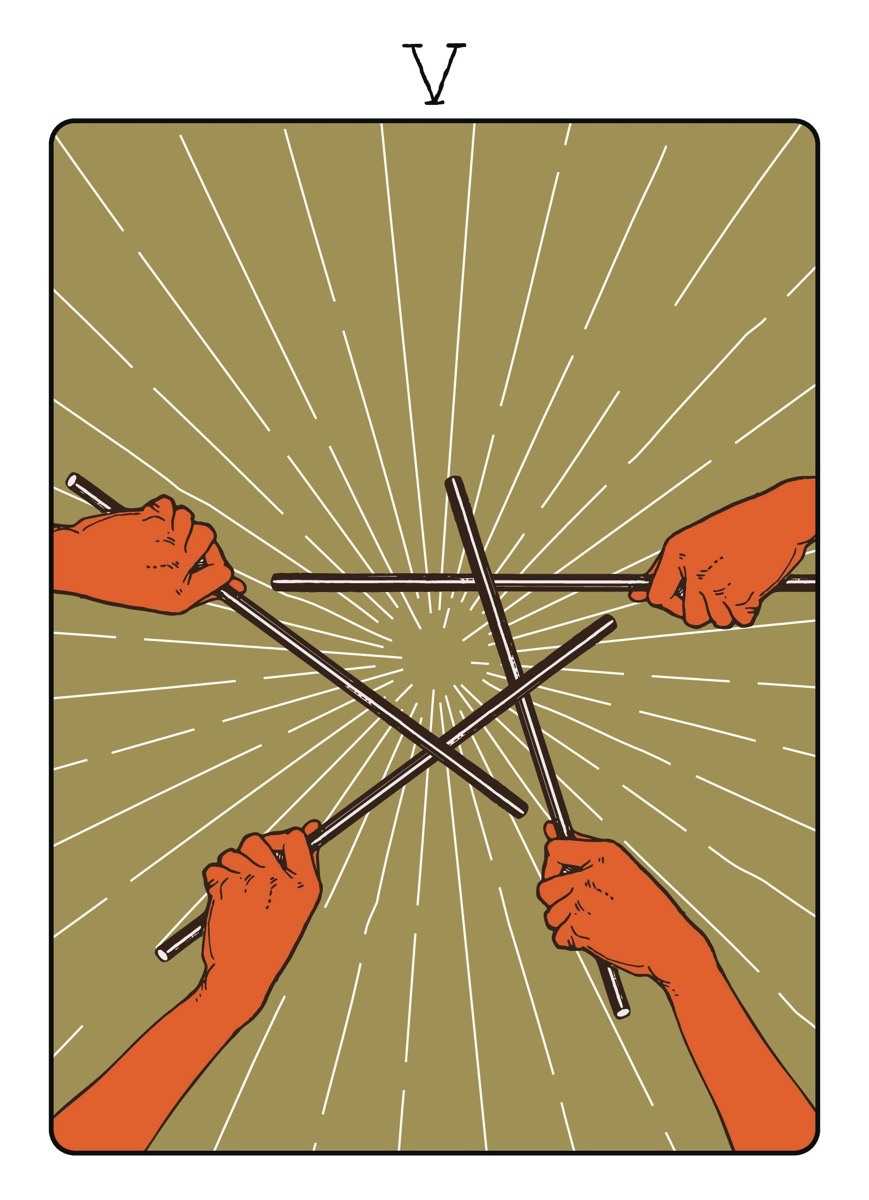 Bryan Dobrow - Five of Wands