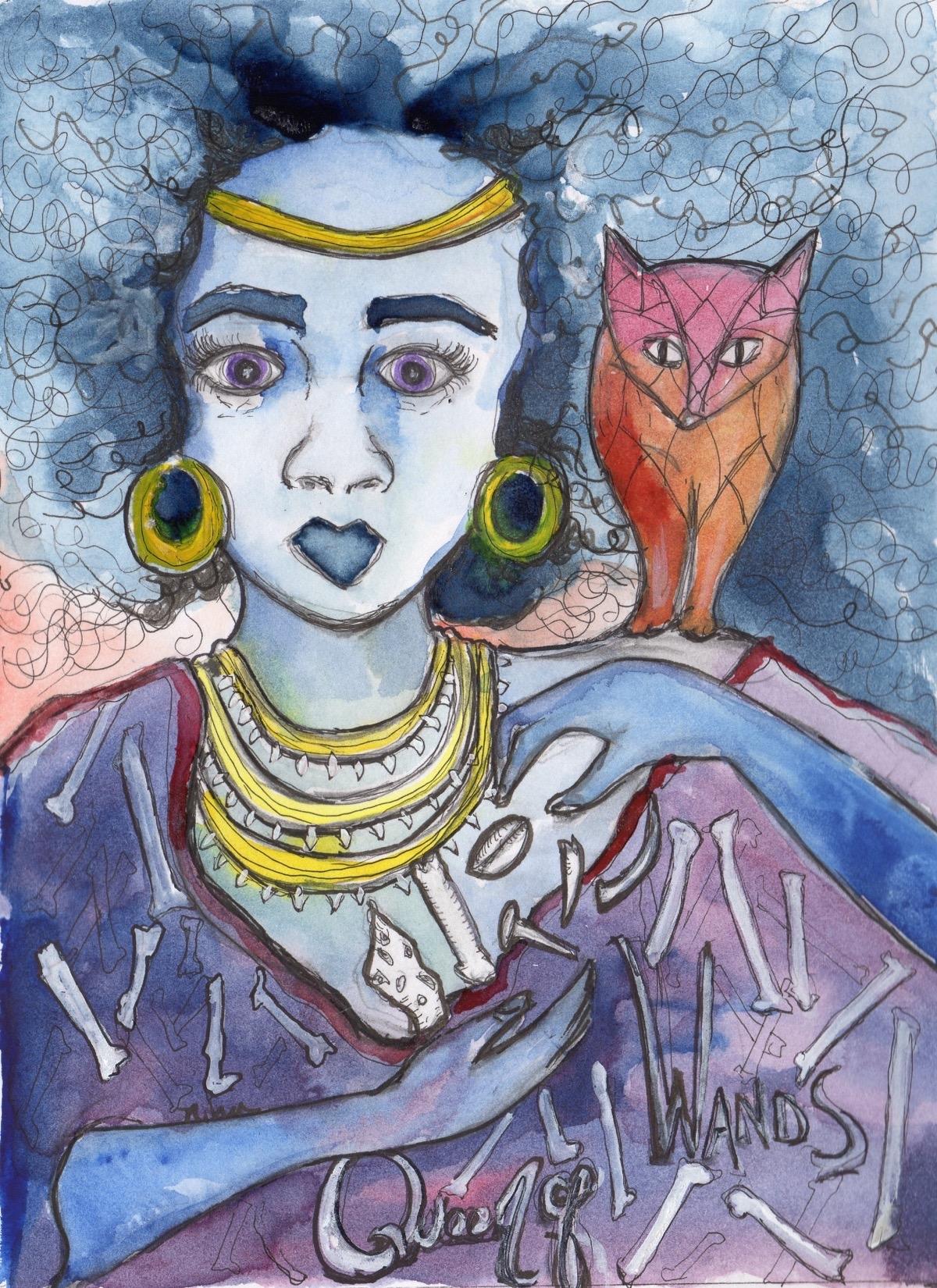 Nina Szarka - Queen of Wands