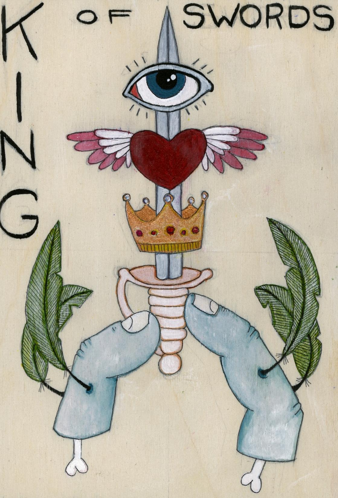 Tashana Kjelland - King of Swords