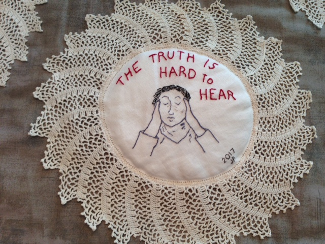 The truth is hard to hear. (Jane Pearlmutter).JPG