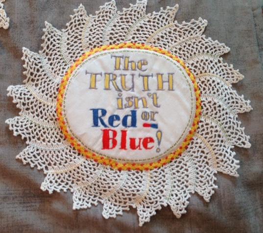 The truth isn't red or blue. (Cynde Quinn).JPG
