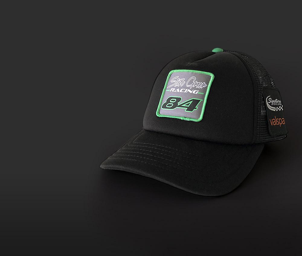 Merchandise - Support the team bypurchasing a Steve Greer Racing cap!
