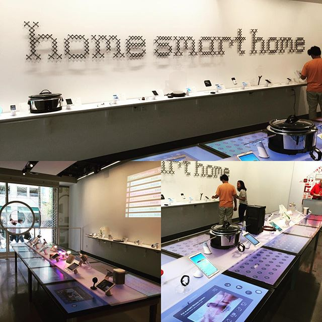 Really impressed with Target's new connected home store in SF. I really needed another place to take my $ like the Apple Store. #target #digital #tech #homesmarthome