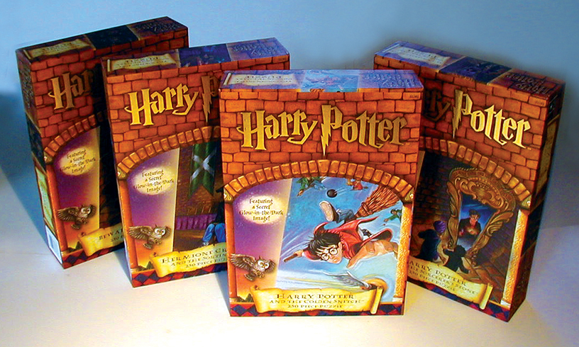 Harry Potter Glow Puzzles