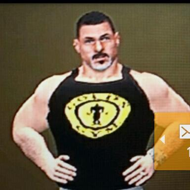 Big Brian. Here depicted as a wrestler in the WWE 2K14 game.