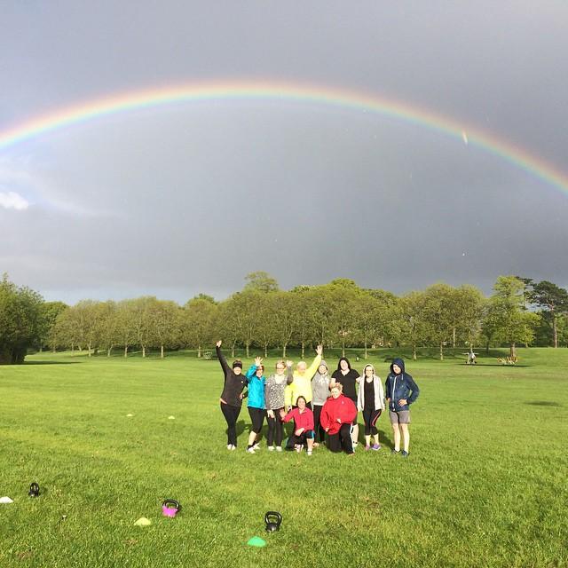 Sunshine after the rain at a recent Kickstart Bootcamp!