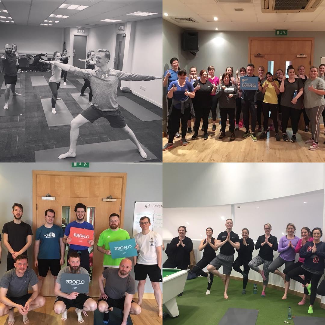 Fitness Belfast Fintru Yoga Bootcamp